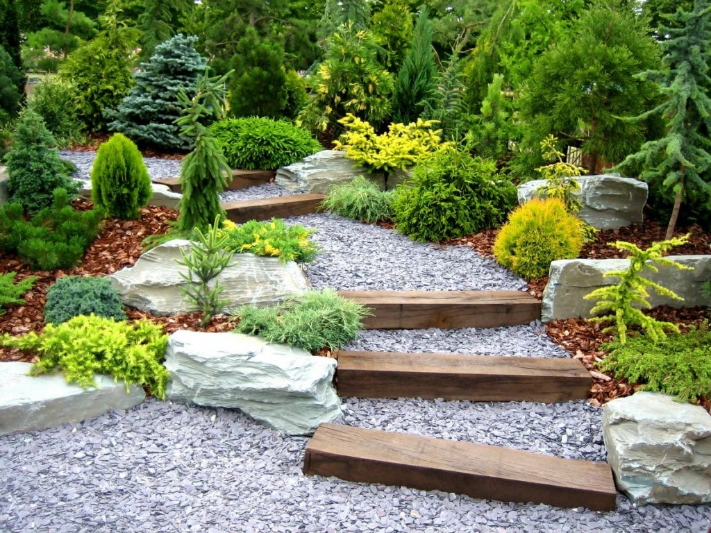 Garden Pebble Contractor Baltimore