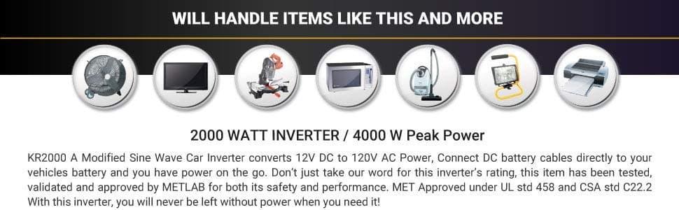 k 2000 power