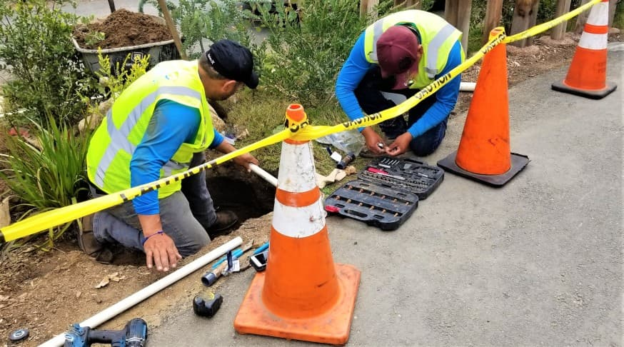 sidewalk repair contractors