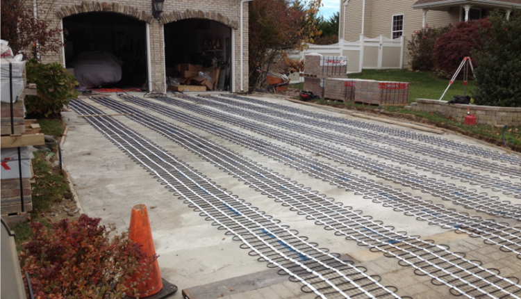 Heated Driveway System
